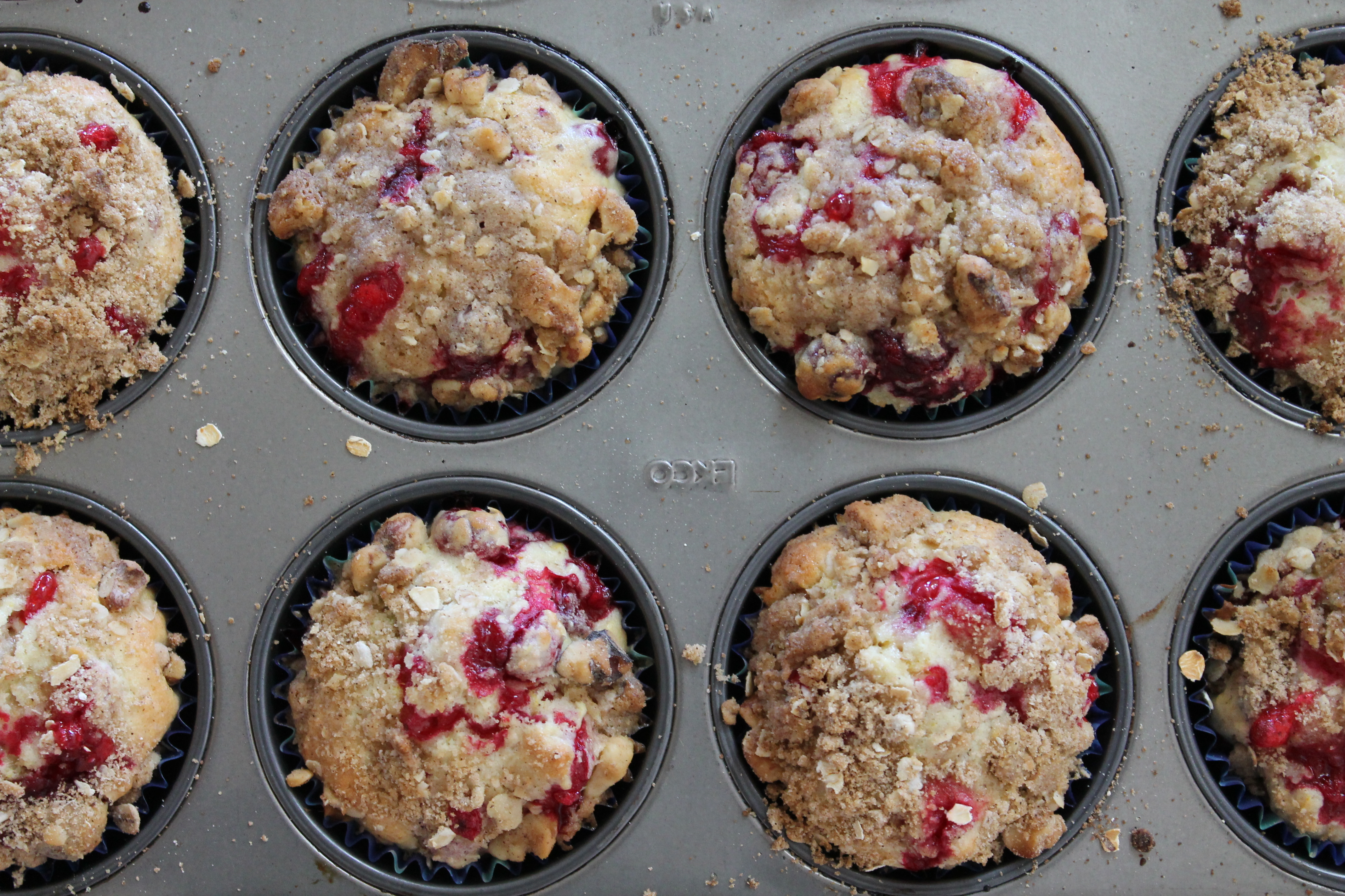 Cape Cod Cranberry Orange Muffins – The Salted Cookie